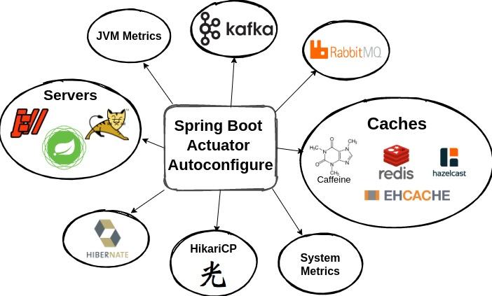 Spring Boot Actuator - dostępne bindery